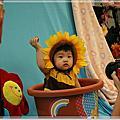 10222011祝寶貝晴十個月快樂!去拍沙龍照囉~憶幼○未盡寶寶攝影比賽之寶貝晴側拍全記錄