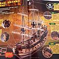 [開箱]加勒比海盜神鬼奇航:幽靈海-鬼盜船(創刊號)*還是自己動手做的比較有感覺!!