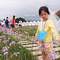 台北大佳河濱公園│路跑_新娘頭紗+澎裙【COUPLE RUN】