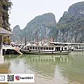 北越下龍灣遊船(鬥雞石、驚訝洞、英雄島)世界自然遺產