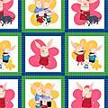 2010年最新款的Olivia小豬妹布料