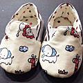 最新手作嬰兒鞋網友作品
