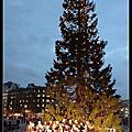 耶誕夜景@ 特拉法加廣場.倫敦