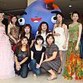 [彩妝造型]南投商品博覽會婚紗秀記者會
