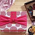 日式喜餅-和の嫁裳系列-繁花織錦