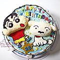 09【幸福黛比】卡通人物蛋糕