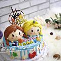 06【幸福黛比】美少女、公主系列蛋糕
