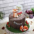 14【幸福黛比】陸上動物&水棲動物&昆蟲系列蛋糕