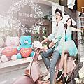*~花居樂花坊~*1041210 平鎮 晶麒莊園 智研&鎂甄  婚紗背板鄉村風主題設計 婚禮佈置