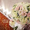 *~花居樂花坊~*1050103 楊梅 揚昇高爾夫球場 THOMAS&SUMMER 婚紗背板設計 婚禮佈置