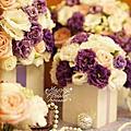 *~花居樂花坊~*1050522中壢 古華花園大飯店 Tu&Fcc 典雅風主題背板設計 婚禮佈置