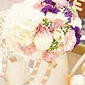 *~花居樂花坊~*1051112楊梅 揚昇高爾夫球場 Zero&Yoyo 鄉村風主題背板設計婚禮佈置