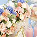 *~花居樂花坊~*1061104中壢 新陶芳庭園餐廳 Ken&Rita 典雅風主題背板設計 婚禮佈置