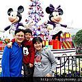 2013.12.14 聖誕節香港親子遊 迪士尼樂園 飛天巡遊
