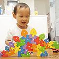 兒童益智玩具教具桌遊 無毒立體拼圖 木質積木 巨型積木