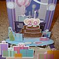 最愛A段班~大家給我跟shane的生日祝福卡片!
