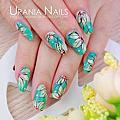 ♥ 指甲上的花花世界!花卉彩繪的指上藝術