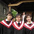 感動大學畢業學士照