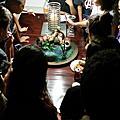 萬聖節恐怖池塘蛋糕(過程)
