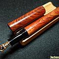 越南酸枝木 & 黃花梨木 平頂筆