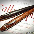 傑克森鋼筆製作所 客製化 蛇紋百樂魚雷 925蛇夾