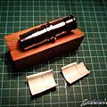 寫樂21K玫瑰金鋼筆 握位重製