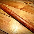 傑克森鋼筆製作所 越南黃花梨 四號平頂筆