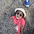 新北市石門區-石門洞-天然的海蝕洞+漂亮的貝殼砂(20200229)