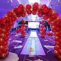 20160623食品集團發表會氣球佈置