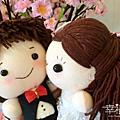 客訂-Yuki&Sina婚禮襪娃