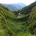 七星山山谷探索瀑頂垂爬山壁至前池回走摘星坡