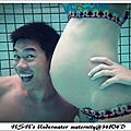 Underwater Maternity about second BABY-二寶的水底孕婦寫真