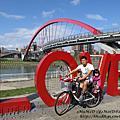 20140223-[台北] 河濱公園-一家四口騎車趣