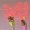 2018.09~新竹美食。EGGY × Picnic 迷彩雪沙&蛋仔專門店