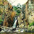 台灣-南投-夢谷瀑布 向山遊客中心 武界 摩摩納爾瀑布