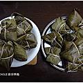 【料理】第二次包粽子(2017/5/27)