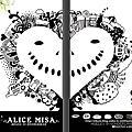★ALICE MISA心夢故事本01【純白的夢想】黑白漫畫