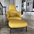 訂製家具成品-單椅/主人椅