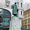 古騰堡青銅雕像