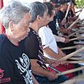 老仙角戰鼓隊 第一週 練習週記