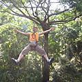 我的旅遊相簿_泰國_長臂猿飛翔  Flight a gibbon