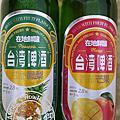 台灣啤酒在地鮮釀水果系列香郁芒果甘甜鳳梨玻璃瓶款