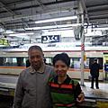 2007年 與老爹老姐遊日本