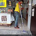 蛋糕店-門口斜坡.工作區-玻璃石地面及高硬度磁磚地面防滑止滑施工