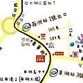 桌遊店地圖