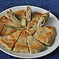 多層次厚片蔥油餅