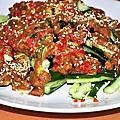 中式涼拌小黃瓜