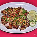 香煎中式椒麻雞