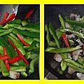 青椒豆豉五花肉