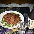 麻油炒豬肝